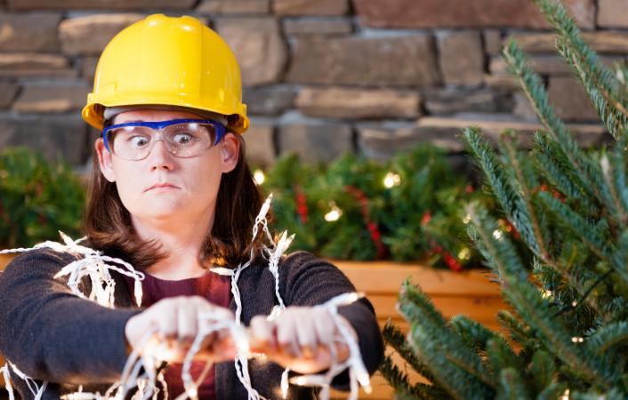 Cómo conectar las luces de tu árbol de navidad